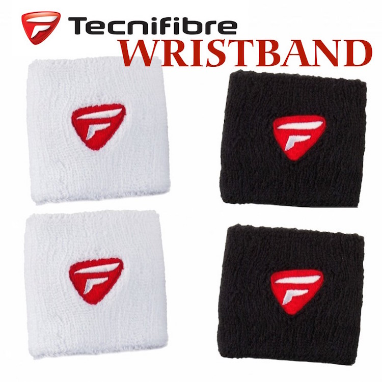 Tecnifibre 2-Pack Wristbands